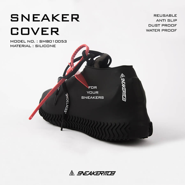 SNEAKER MOB 防水鞋套 黑白 二色 現貨 (布魯克林) 2019/2月 SM10白 SM11黑