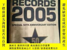 二手書博民逛書店Guinness罕見World Records 2005Y197