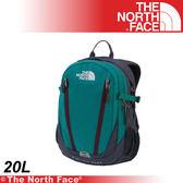 【The North Face 20L 13吋電腦背包《綠/灰石藍》】A3RV-Q5Z/筆電包/登山包/後背包/雙肩包★滿額送