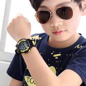 電子錶男孩中小學生電子錶兒童手錶男女童運動潮流防水電子手錶