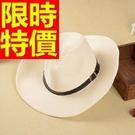 牛仔帽子有型隨意-美式必買自信紳士男帽子4色57j1【巴黎精品】