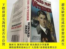 二手書博民逛書店Howard罕見fast the outsider(局外人霍華德