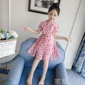 女童洋裝女童洋裝新款夏裝韓版大童裝小女孩裙子超洋氣公主裙潮 至簡元素