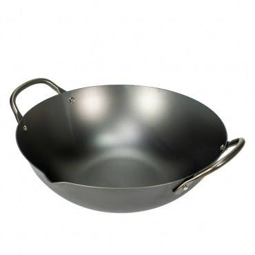 fujidinos-日本製《極PREMIUM》不易生鏽中華鍋(27cm)