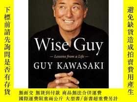 二手書博民逛書店聰明的蓋伊罕見生活的教訓 蘋果 老蓋伊·川崎自傳 英文原版 WI