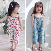 兒童吊帶褲 夏季韓版女童吊帶連身衣