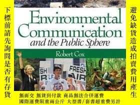 二手書博民逛書店Environmental罕見Communication And The Public Sphere-環境傳播與公