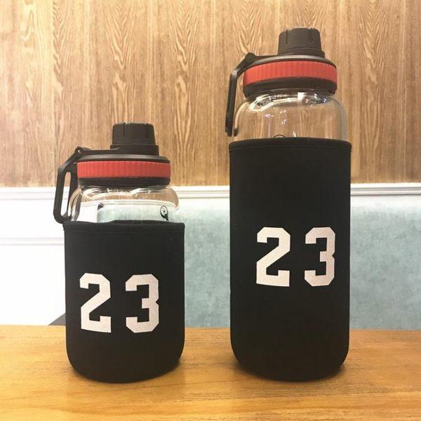 大容量玻璃杯1000ml耐熱過濾網男茶杯車載水瓶壺隨手杯子便攜水杯