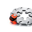 ZOVII ZS6 警報碟煞鎖 螢光橘 公司貨 送收納袋+提醒繩
