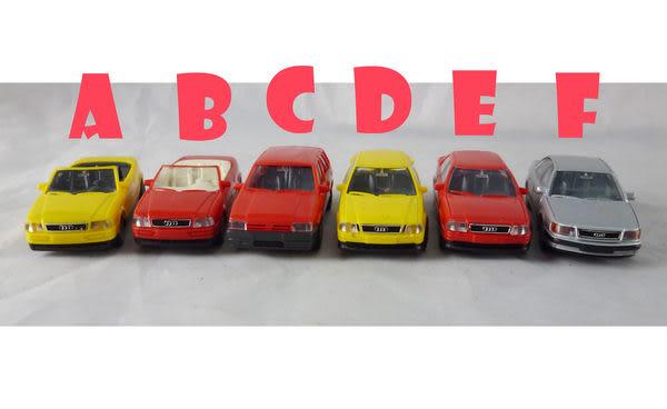 【震撼精品百貨】西德Herpa1/87模型車~AUDI-CABRIO/COUES2/100 / FIAT TIPO【共6款】