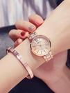 手錶女學生韓版簡約潮流 ulzzang休閒大氣防水時尚女士石英錶   LannaS
