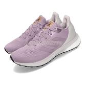 adidas 慢跑鞋 Astrarun W 紫 灰 女鞋 運動鞋 【ACS】 EG5835
