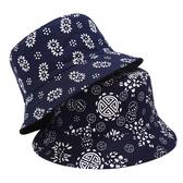 漁夫帽 素色 圖騰 民族風 盆帽 雙面 防曬 可折疊 遮陽帽 漁夫帽【YFM638】 ENTER  08/15