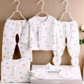 滿月禮盒 初生寶寶衣服純棉新生兒衣服0-3月嬰兒套裝用品滿月禮盒 魔法空間
