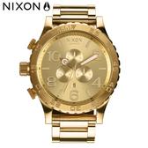 NIXON 51-30 時尚霸氣 金 潛水錶 潮人裝備 潮人態度 禮物首選