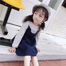 長袖荷葉領上衣  背心吊帶裙 (分開選購)  橘魔法Baby magic 現貨 女童 兒童 童裝