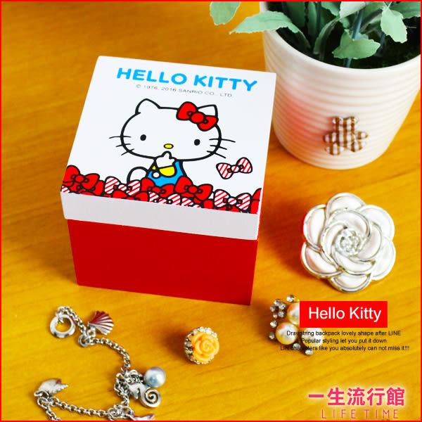 《最後3個》Hello Kitty 凱蒂貓 正版 戒指 項鍊 飾品盒 情人節 告白 禮物盒 收納 首飾盒 B01187