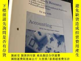 二手書博民逛書店Accounting罕見what the Numbers Mean (Sixth Edition)Y5834