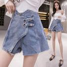 出清288 韓國風寬鬆顯瘦熱褲牛仔褲ins高腰牛仔單品短褲