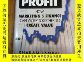 二手書博民逛書店Fusion罕見for Profit: How Marketin