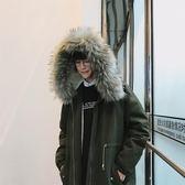 棉衣男中長款男士棉服2018新款大衣韓版連帽棉襖加厚冬季外套男潮 挪威森林