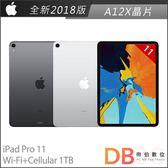 Apple iPad Pro 11吋 Wi-Fi+Cellular 1TB 平板電腦(6期0利率)-附抗刮保護貼+背蓋