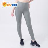 UV100 防曬 抗UV-舒適腰圍彈力律動褲-女