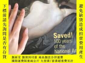 二手書博民逛書店Saved!100罕見Years of the National Art Collection FundY33