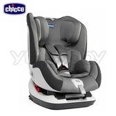 Chicco Seat up 012 Isofix 安全汽座/汽車安全座椅 -煙燻灰【加贈.二合一360度旋轉訓練車 】●隋棠代言