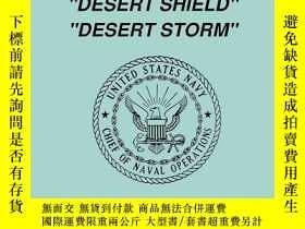 二手書博民逛書店The罕見United States Navy in Dese