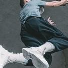 UZIS夏季薄款運動長褲男寬鬆束腳褲運動褲籃球褲衛褲潮cba訓練褲 蘿莉小腳丫
