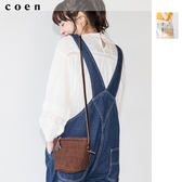 迷你肩背包 瓊麻草編包 廣告著用單品 現貨 免運費 日本品牌【coen】