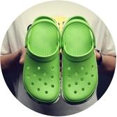 【新飾界】涼拖鞋2020夏季新款洞洞鞋男防滑軟底迷彩沙灘鞋