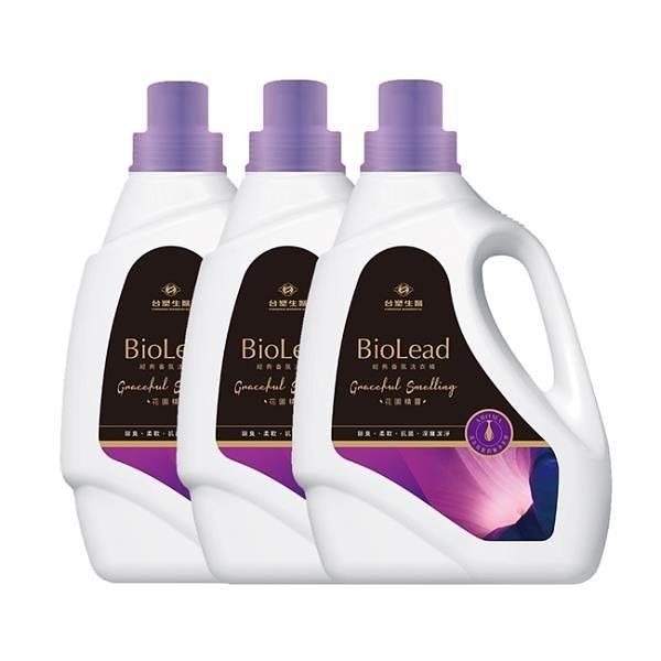 【南紡購物中心】《台塑生醫》BioLead經典香氛洗衣精 花園精靈2kg(3瓶)
