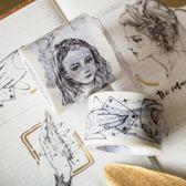和紙膠帶DIY日記裝飾貼紙手帳