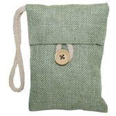 附吊袋備長碳香氛吸濕除臭包 1入-綠茶(混款)