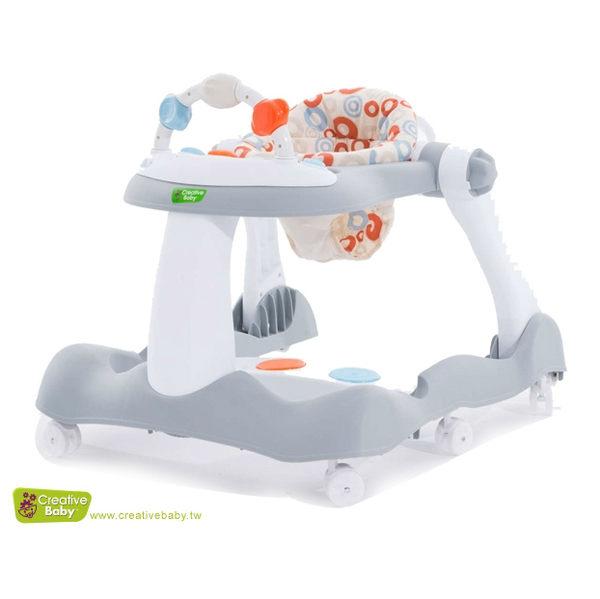 【愛吾兒】Creative Baby 經典版-多功能音樂折疊式三合一學步車/助步車(Bouncy step)
