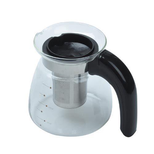 【九元生活百貨】106B#耐溫玻璃濾茶壺 沖茶器 咖啡壺