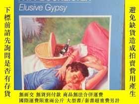 二手書博民逛書店Elusive罕見gypsy 英文原版口袋書 (目前 孤本)Y1