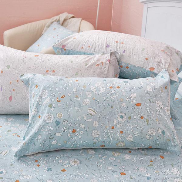 床包 / 雙人【花漾】含兩件枕套  100%精梳棉  戀家小舖台灣製AAS201