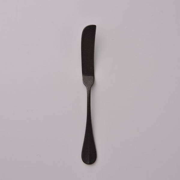 日本 AOYOSHI 青芳製作所 仿舊霧黑Baguette Classic奶油抹刀