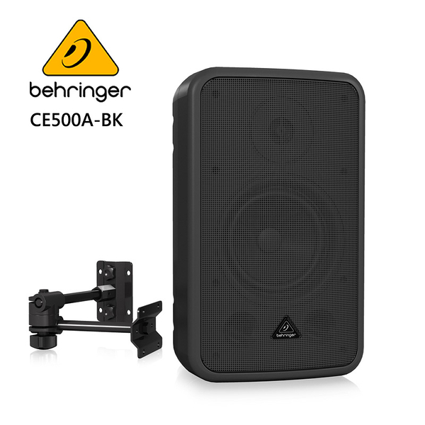★BEHRINGER★CE500A-BK 高性能壁掛式喇叭 (一對商用音響揚聲器系統)