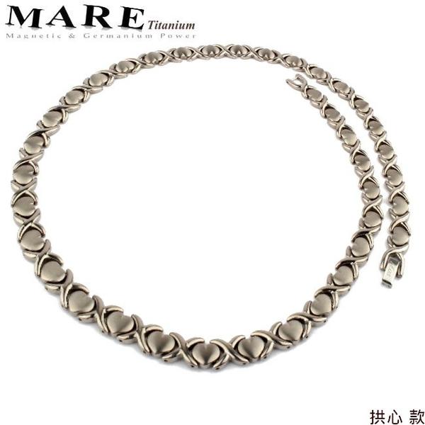 【MARE-純鈦項鍊】系列:拱心  款