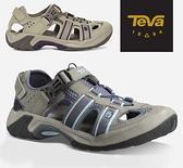 丹大戶外【TEVA】美國 女OMNIUM 護趾運動涼鞋 暗藍灰(6154SLA)灰褐色(6154PLTP)