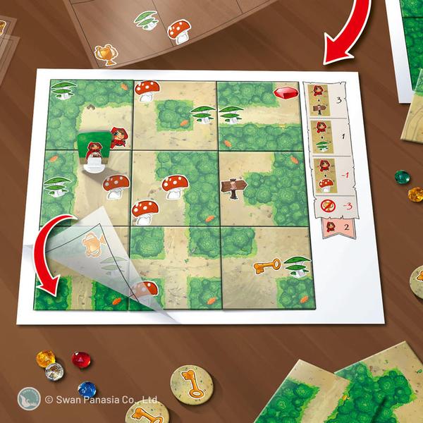 『高雄龐奇桌遊』魔幻森林 WOODLAND 繁體中文版 正版桌上遊戲專賣店