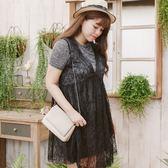 Poly Lulu 修身兩件式涼感棉質休閒洋裝-灰【92270285】