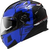 【東門城】ASTONE RT1000 AB9(黑藍) 可掀式安全帽 雙鏡片