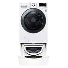 (送陶板屋餐卷3張)回函贈 LG樂金15公斤滾筒蒸洗脫烘+2公斤溫水下層洗衣機WD-S15TBD+WT-SD200AHW