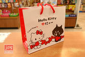 [百冠] Hello Kitty 凱蒂貓`×にや 方型提袋 紅白
