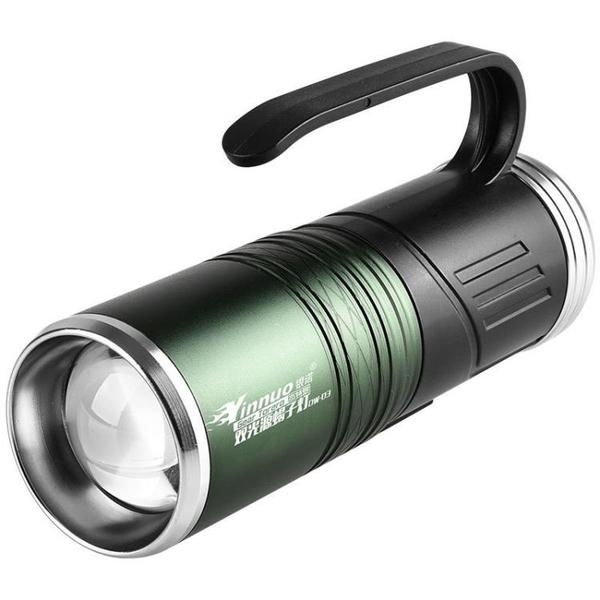 手電筒 銀諾蝎子燈充電手提手電筒超亮戶外照逮捕抓捉蝎子強光紫光專用燈
